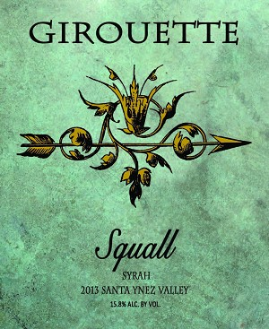 "2013 Syrah - Reserve Girouette ""Squall"""